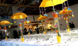 Flying Pig Centerpieces