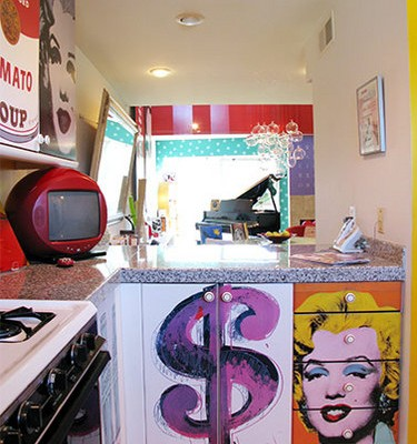 Marilyn and Dollar Sign Cabinets